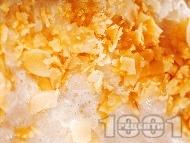 Рецепта Мухалавия - каша от оризово брашно и прясно мляко